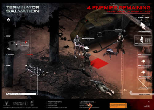 Terminator Salvation online game